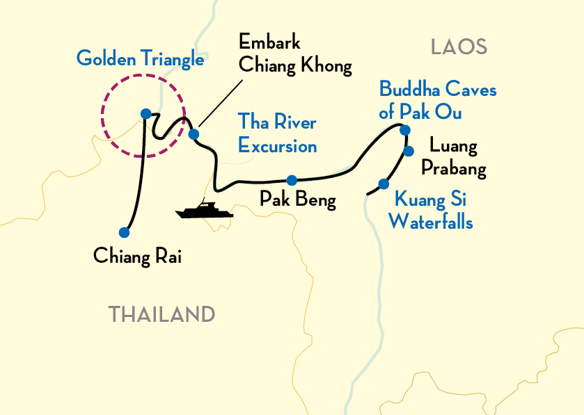 Laos Revealed Map