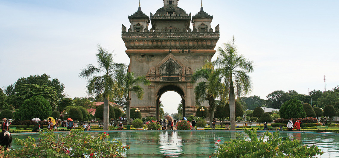 Vientiane - The Arc de Triomphe
