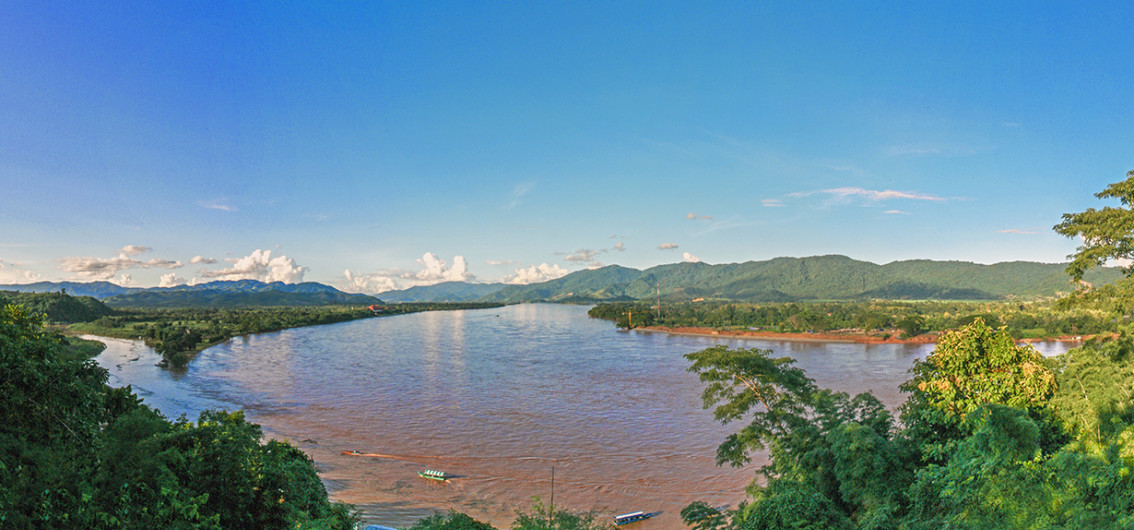The Golden Triangle area at Chiang Saen